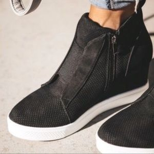 Sneaker Wedges! Platform Wedge Sneakers 'Zoey'